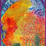 Banyan Tree Ketubah, egg tempera and india ink on paper, 2010, by Judith Joseph