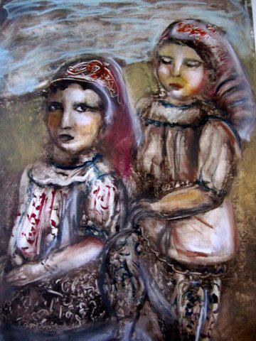 Esther Pam Zibell - Jewish Children in Tunisia