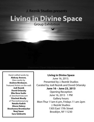 Living in Divine Space - Flyer