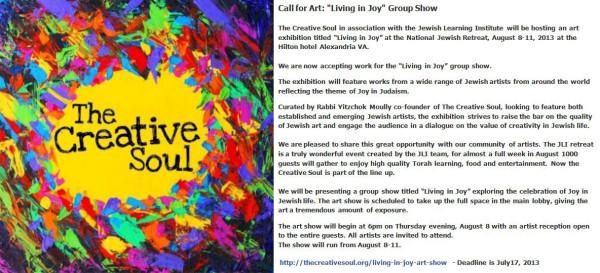 Creative Soul Show - Living in Joy